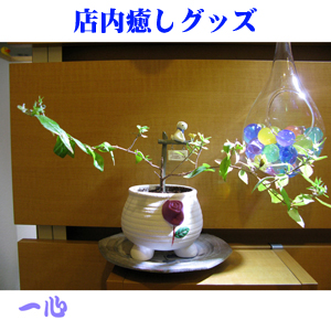 Healing figurines in the store 01 店内の癒し置物01